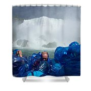 Niagra Falls Photographers Shower Curtain