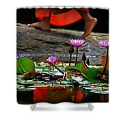 Nibbana Shower Curtain