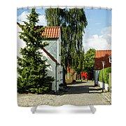 Nibe Street Life Shower Curtain