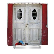 Nicaragua Door 1 Shower Curtain