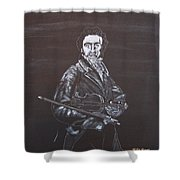 Niccolo Paganini Shower Curtain