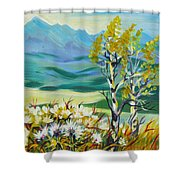 Nice Autumn Day Shower Curtain