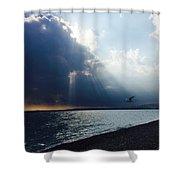 Nice Beach Shower Curtain
