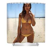 Nice Girl Shower Curtain