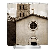 Nice Old Church For Wedding Shower Curtain