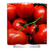 Nice Tomatoes Baby Shower Curtain