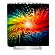 Nice Yoga Towel Shower Curtain