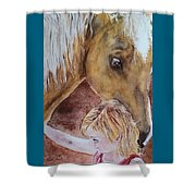 Nick And Girl Shower Curtain