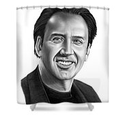 Nick Cage Shower Curtain