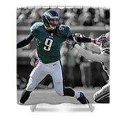 Nick Foles Eagles Super Bowl 2 Shower Curtain