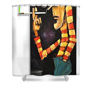 Nick Nolte The Lean Years Shower Curtain