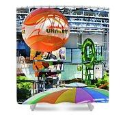 Nickelodeon Universe Indoor Amusement Park Shower Curtain