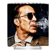 Nicolas Cage Collection Shower Curtain