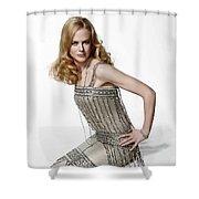 Nicole Kidman Shower Curtain