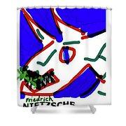 Nietzsche Poster Shower Curtain
