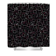 Night Abstraction Shower Curtain