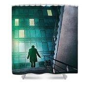 Night Agent Shower Curtain