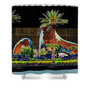 Night At The Dali Museum Shower Curtain