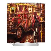 Night At The Movies Shower Curtain