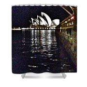 Night At The Opera Shower Curtain