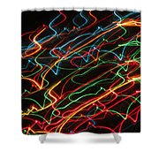 Night At The Races Shower Curtain