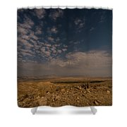 Night By Moonlight Shower Curtain