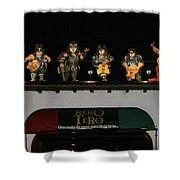 Night Club Bebotero  Shower Curtain