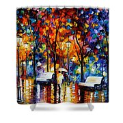 Night Copenhagen Shower Curtain
