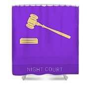 Night Court My Favorite Tv Shows Series 019 Shower Curtain