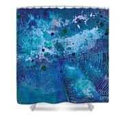 Night Echo Shower Curtain