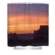 Night Falls Gently Shower Curtain