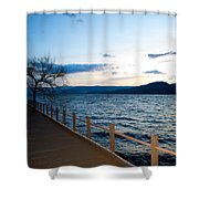 Night Falls Shower Curtain