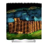 Night #g7 Shower Curtain