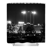 Night Game Shower Curtain