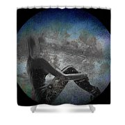 Night Hope V2 Shower Curtain