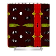 Night In Asia Shower Curtain