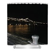 Night In New Orleans Shower Curtain