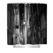 Night In Palermo Shower Curtain