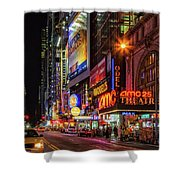 Night In The Big Apple Shower Curtain