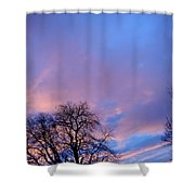 Night Is Coming Shower Curtain