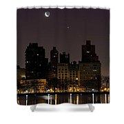 Night Life Shower Curtain
