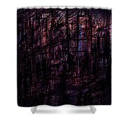 Night Lovers Shower Curtain