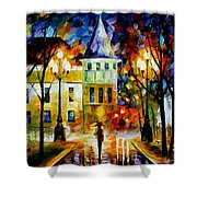 Night Magic Shower Curtain