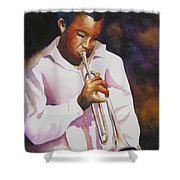 Night Music Shower Curtain