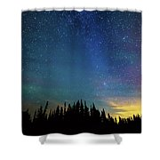Night Of Enchantment Shower Curtain