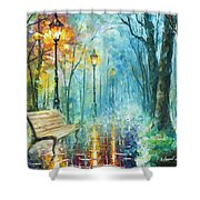 Night Of Inspiration Shower Curtain