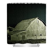 Night On The Farm Shower Curtain