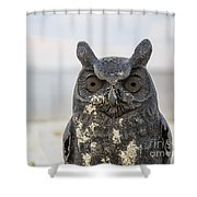 Night Owl Shower Curtain
