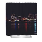 Night Scape Shower Curtain