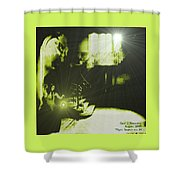 Night Search No. 14 H A Shower Curtain
